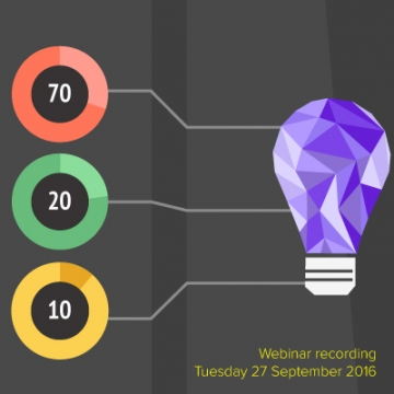Webinar recording How to support