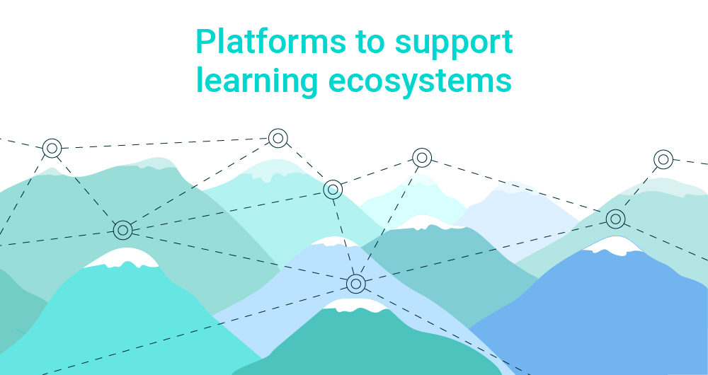 Platforms to support learning ecosystems website main