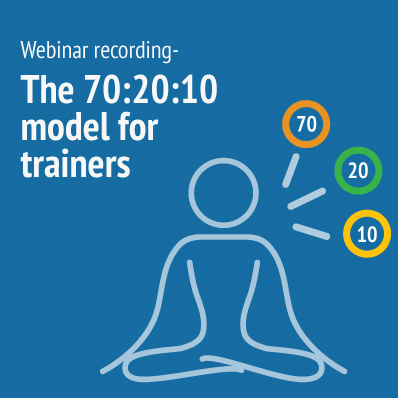Webinar recording 702010 model for trianers