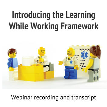 Learning while working framework resource